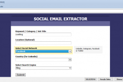 SocialExtractor-社交电子邮件提取器,开发新客户利器!