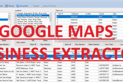 G-Business Extractor刮取谷歌地图商家工具
