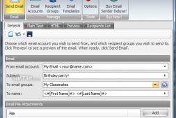 Email Sender Deluxe 邮箱群发利器,外贸邮件营销必备工具!