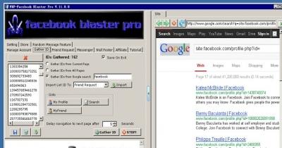 Facebook Blaster Pro使用教程