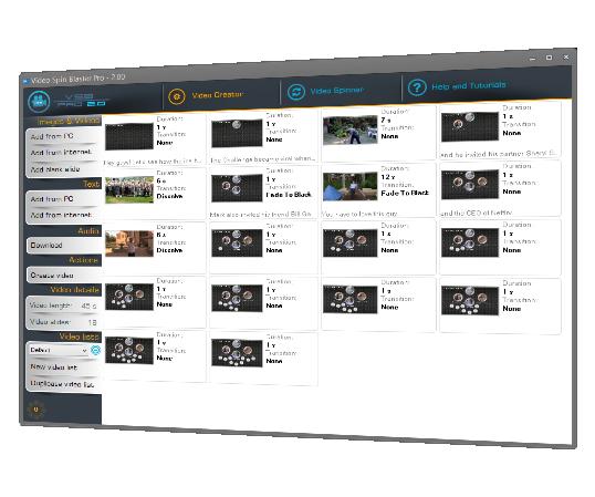 最新Youtube营销软件video spin blaster pro 视频伪原创 包升级