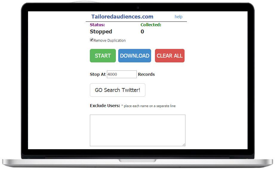 最新Twitter营销软件Tailored Audiences 外贸SNS推广包升级
