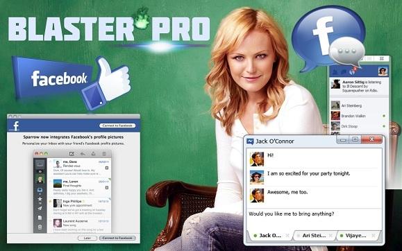 facebook Blaster Pro 11自动发送加好友 脸书粉丝外贸营销推广软件
