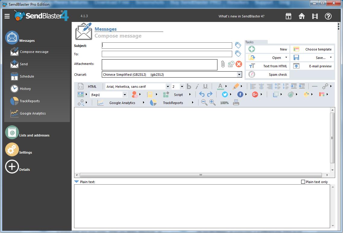 sendblaster4企业版邮箱辅助工具-外贸客户开发_外贸邮箱营销软件